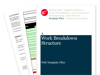 Cover for Work Breakdown Structure - Web Template Files