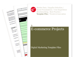 Cover for E-commerce Projects - Digital Marketing Template Files