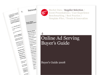 Cover for Online Ad Serving Buyer's Guide 2008