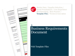 Cover for Business Requirements Document - Web Template Files
