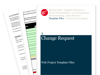 Cover for Change Request - Web Project Template Files