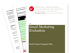 Cover for Email Marketing Evaluation - Web Project Template Files