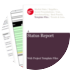 Cover for Status Report - Web Project Template Files