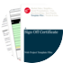 Cover for Sign Off Certificate - Web Project Template Files