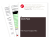 Cover for Test Plan - Web Project Template Files