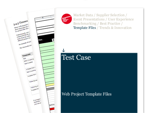 Cover for Test Case - Web Project Template Files