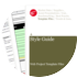 Cover for Style Guide - Web Project Template Files