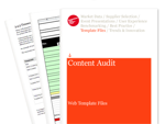 Cover for Content Audit - Web Template Files