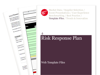 Cover for Risk Response Plan - Web Template Files