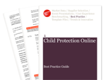 Cover for Child Protection Best Practice Guide
