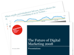 Cover for The Future of Digital Marketing 2008 - Presentations