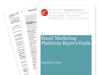 Cover for Email Marketing Platforms Buyer's Guide 2009
