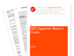 Cover for SEO Agencies Buyer's Guide 2009