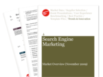 Cover for Search Engine Marketing Trends Briefing November 2009
