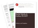 Cover for Social Media & Online PR Request For Proposal (RFP)