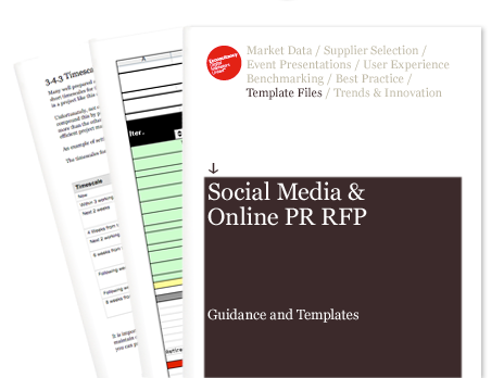 Social Media And Online Pr Request For Proposal Rfp Econsultancy