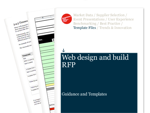 Cover for Web Design & Build Request For Proposal (RFP)