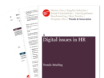 Cover for Digital issues in Human Resources