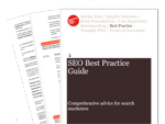 Cover for Search Engine Optimization (SEO) - Best Practice Guide 2009