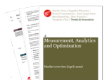 Cover for Measurement, Analytics and Optimization: Market overview