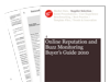 Cover for Online Reputation and Buzz Monitoring Buyer's Guide 2010