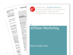Cover for Affiliate Marketing Buyer's Guide 2009