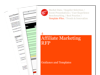 Cover for Affiliate Marketing Request for Proposal (RFP)