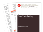 Cover for Email Marketing Best Practice Guide