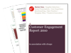Cover for Customer Engagement Report 2010