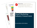 Cover for Email Marketing Census 2009