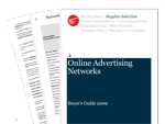 Cover for Online Advertising Networks Buyer's Guide 2009