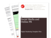 Cover for Social Media and Online PR – Digital Marketing Template Files