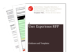 Cover for Usability & User Experience Request for Proposal (RFP)