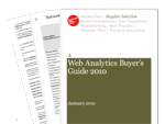 Cover for Web Analytics Buyer's Guide 2010