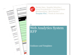Cover for Web Analytics Request for Proposal (RFP)