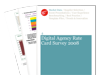 Cover for Rate Card Survey 2008: How much do UK digital agencies charge?