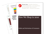 Cover for How We Shop in 2010: Habits and Motivations of Consumers