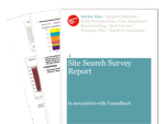 Cover for Site Search Report