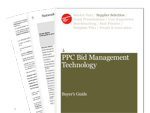 Cover for PPC Bid Management Technology Buyer's Guide 2010