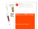 Cover for Return on Effort Study