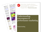 Cover for Understanding Convergence and Performance Marketing: Trends Briefing