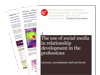 Cover for Social media and relationship development in professional services