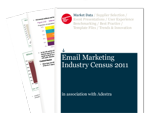 Cover for Email Marketing Census 2011