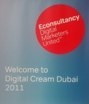 Cover for Digital Cream Dubai 2011 Presentations