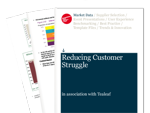 Cover for Reducing Customer Struggle 2011