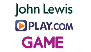John Lewis, Game and Play.com logos
