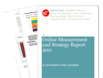 Cover for Online Measurement and Strategy Report 2011
