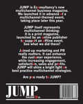 Cover for JUMP Magazine: Issue one
