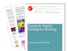 Cover for Quarterly Digital Intelligence Briefing