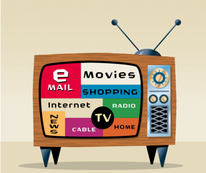 How can marketers use TV ads to drive people online